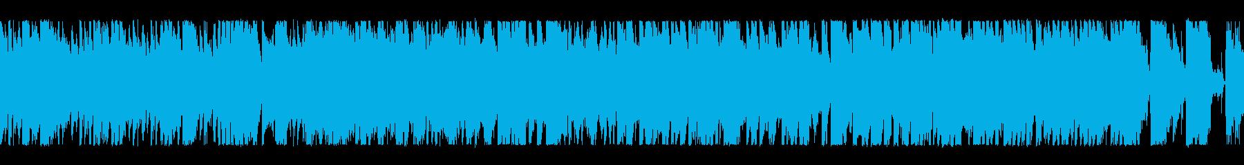 元気ハツラツブラス+ロック歌なしループ2の再生済みの波形