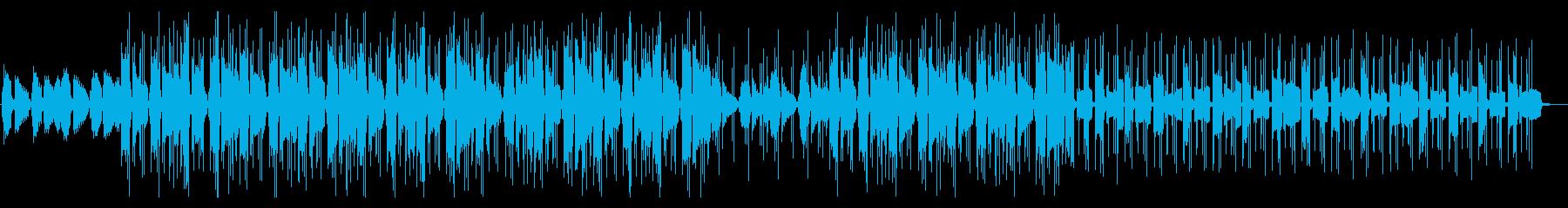 おしゃれなLo-Fi HipHopBGMの再生済みの波形