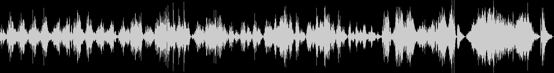 ショパン:華麗なる大円舞曲(ピアノソロ)の未再生の波形