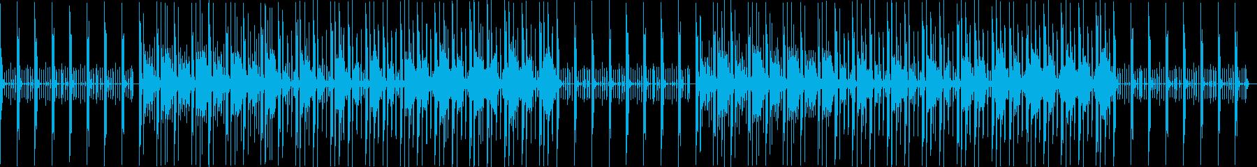 クール・スタイリッシュなBGM・2の再生済みの波形