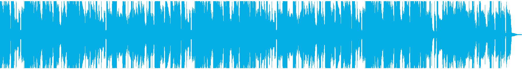ブルージーでかっこいいハーモニカブルースの再生済みの波形