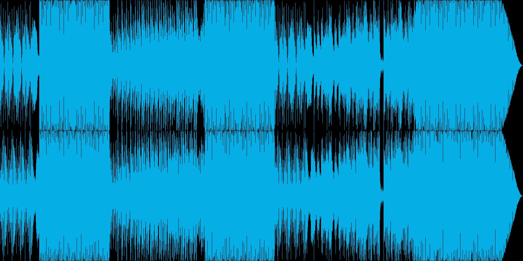 さわやかなEDMの再生済みの波形