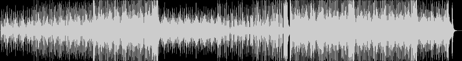 ピアノの陽気なポップス 劇伴向けの未再生の波形