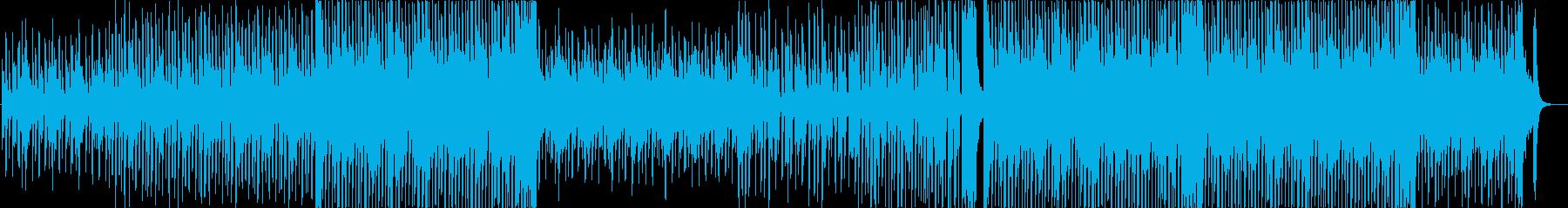 ピアノの陽気なポップス 劇伴向けの再生済みの波形