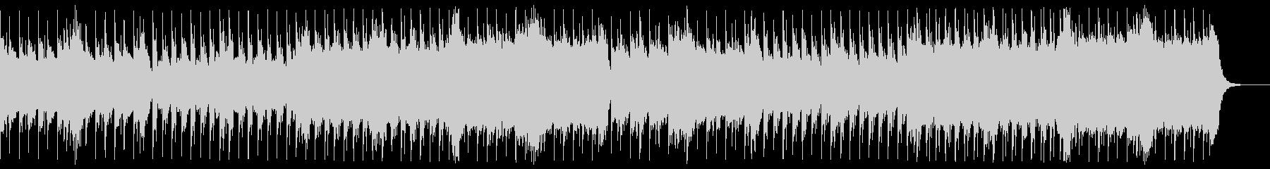 おしゃれな雰囲気の3拍子BGMの未再生の波形