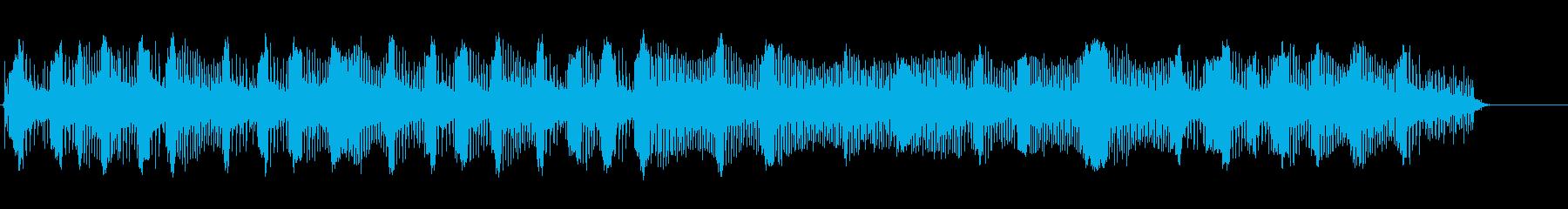 ピアジオバイク-開始-改訂2の再生済みの波形