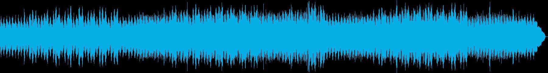 優しい温もりを感じられるエレクトロニカの再生済みの波形