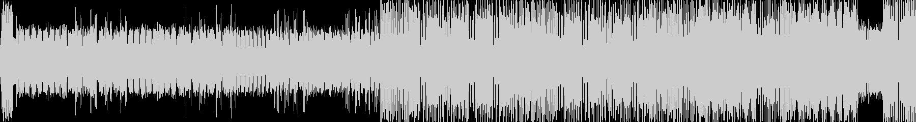 ビキビキといった電子音などの未再生の波形