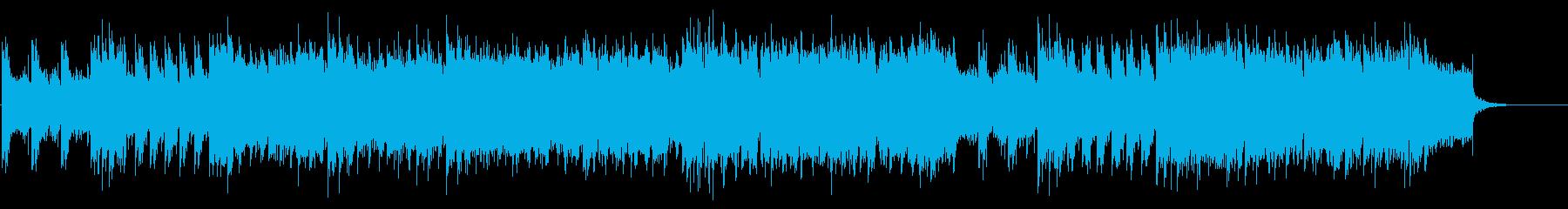 和風ロックで千本桜風のオリジナル曲の再生済みの波形