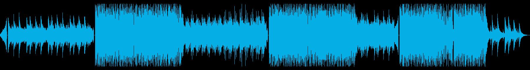 生アコギ/始まりを予感させるダンスポップの再生済みの波形