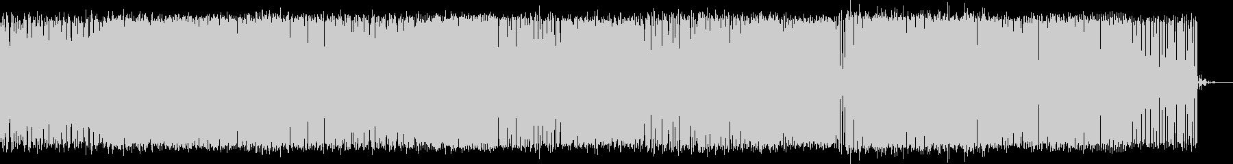 映像向けテクノサウンド(アレンジ版)の未再生の波形