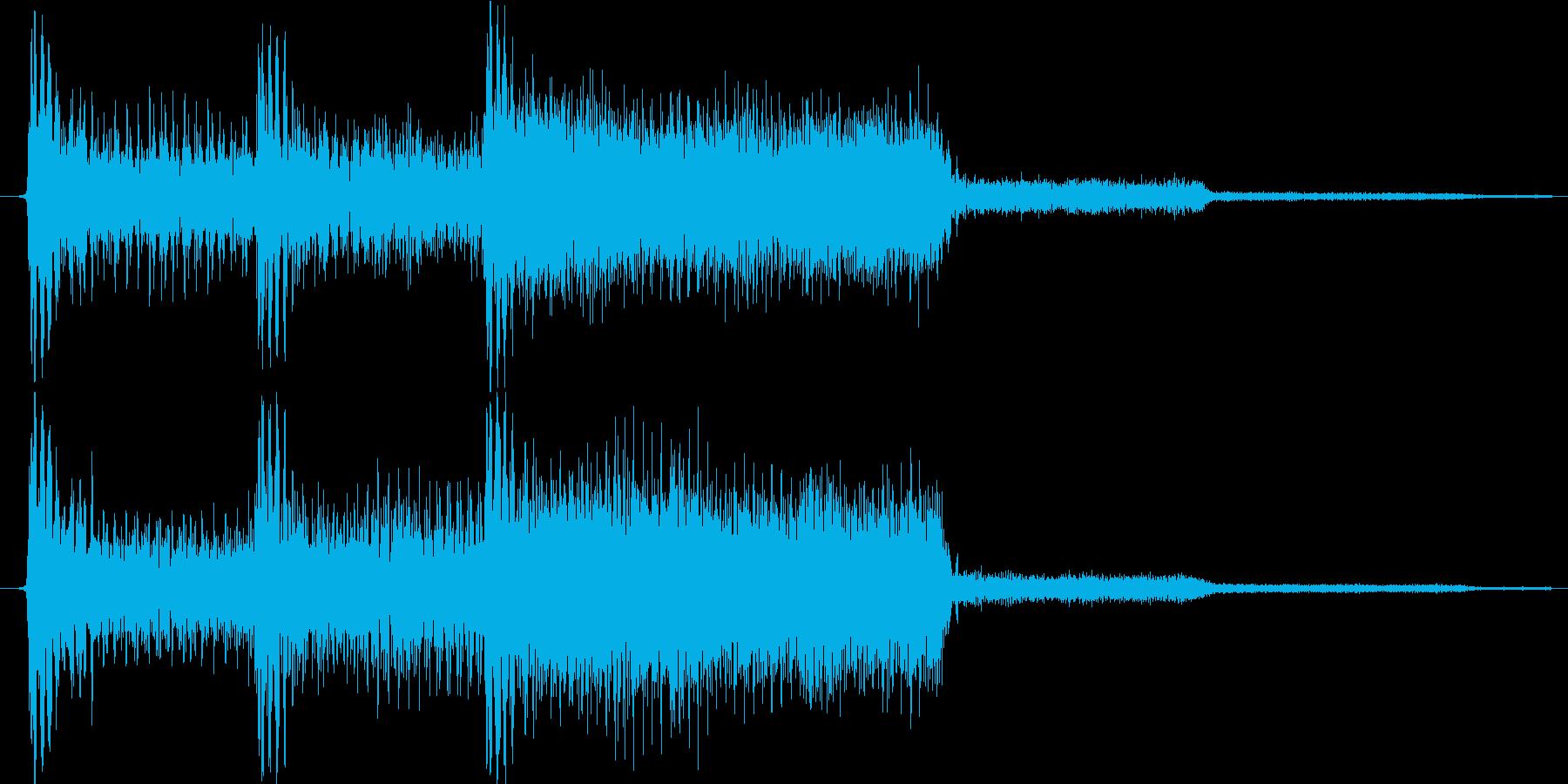 ゲーム、クイズ(正解)_003の再生済みの波形
