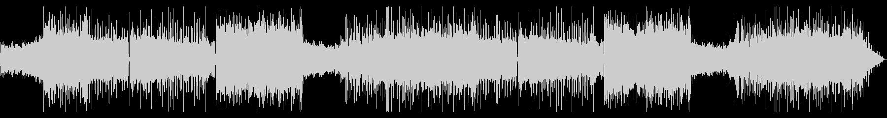 いかつい重めロックなエレキギターサウンドの未再生の波形