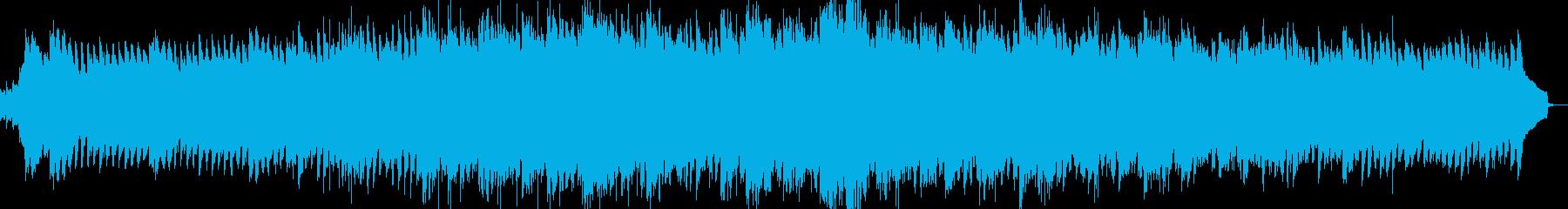 【VP・CM風】さわやかでテンポのいい曲の再生済みの波形