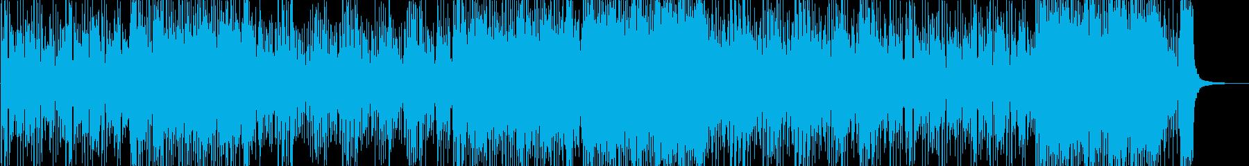 京都・大奥 琴がメインの和風BGMの再生済みの波形