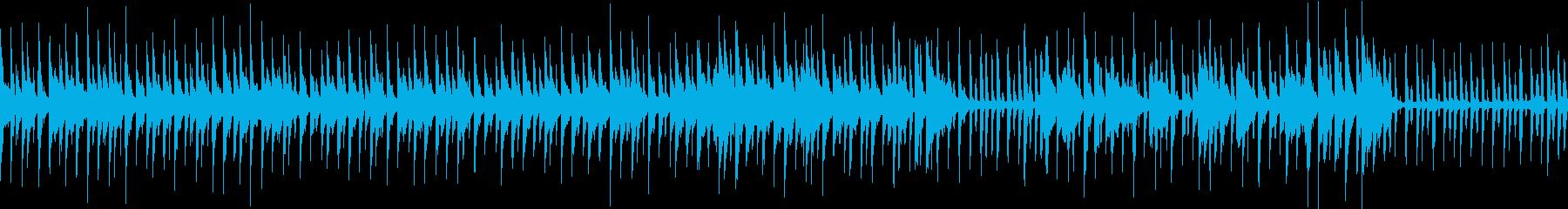 渋谷系のピチカートのかわいい曲(ループ)の再生済みの波形