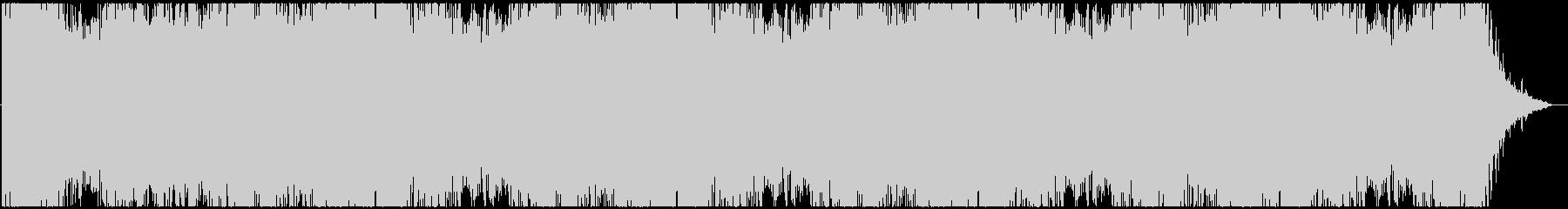 ドローン マーキュリー01の未再生の波形