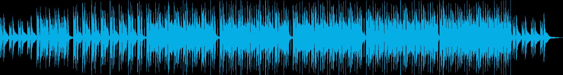 マリンバが特徴的・キッズ子供向けポップスの再生済みの波形