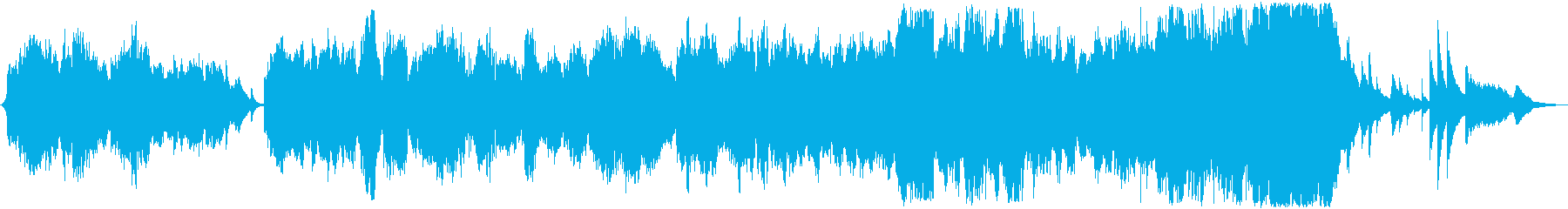 朝ドラ風 オーケストラサウンド  の再生済みの波形