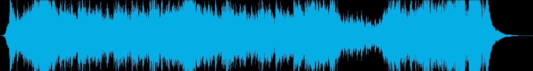 オーケストラ曲 人類未踏の秘境をイメージの再生済みの波形