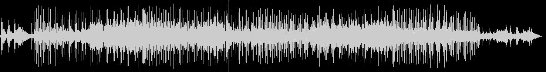 伝統中国音楽アレンジによるポップスの未再生の波形