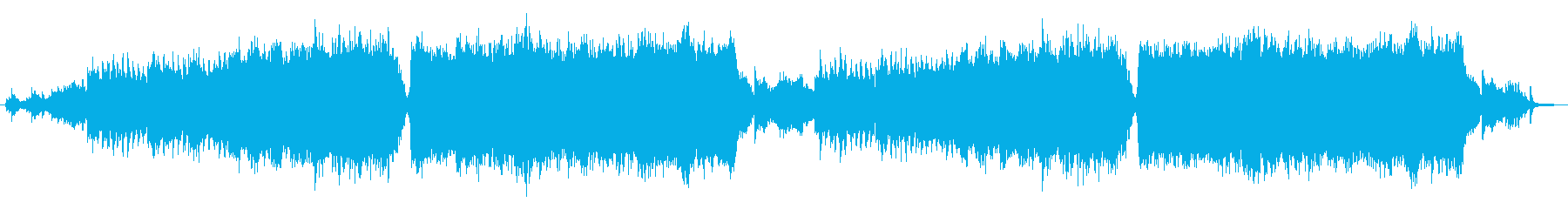 琴&オーケストラ落ち着いた和風曲の再生済みの波形