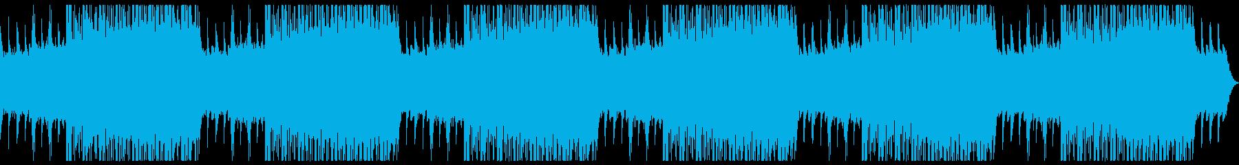 神秘的なピアノのヒーリング、アンビエントの再生済みの波形