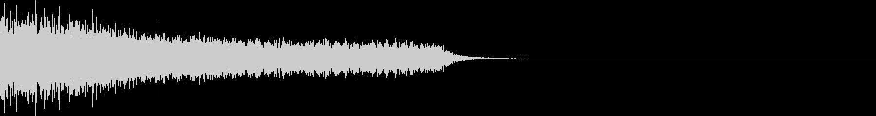 衝撃 ギター インパクト ノイズ 01の未再生の波形