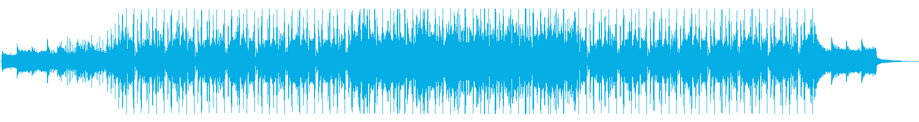 暗い 森の中 霧 R&B ヒップホップの再生済みの波形