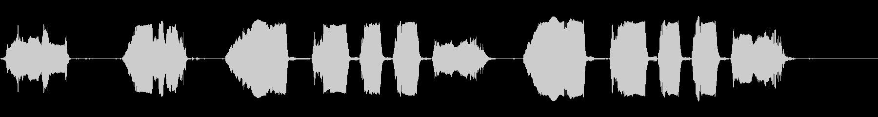 カウベローズ;さまざまな、近い視点の未再生の波形