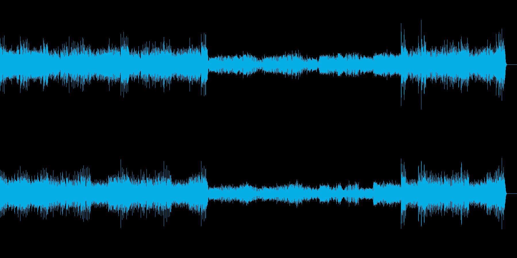 クープランの墓より第四楽章リゴドン(新)の再生済みの波形