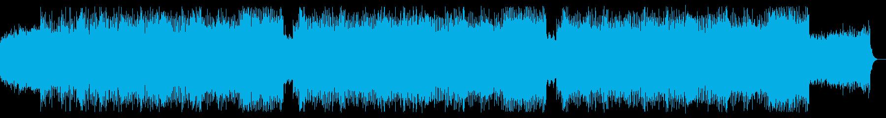ピアノ/シンセ/ボス戦闘/バトルの再生済みの波形
