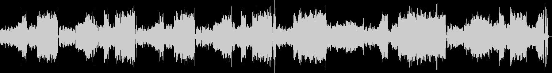 交響曲第40番ト短調 K.550よりの未再生の波形