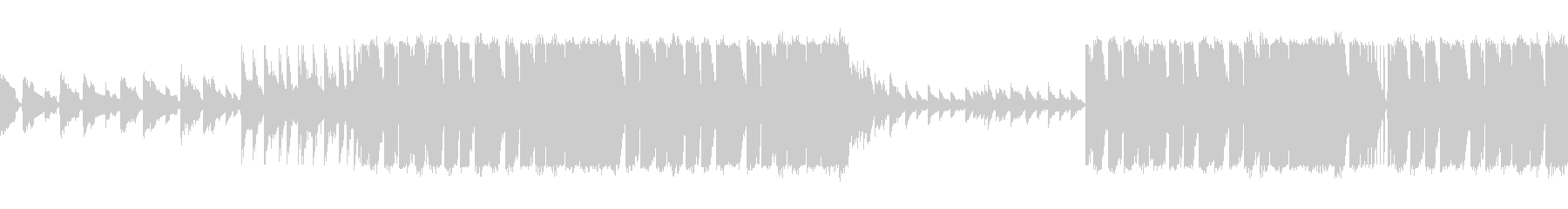 ピアノとバイオリンがあるクラシックEDMの未再生の波形