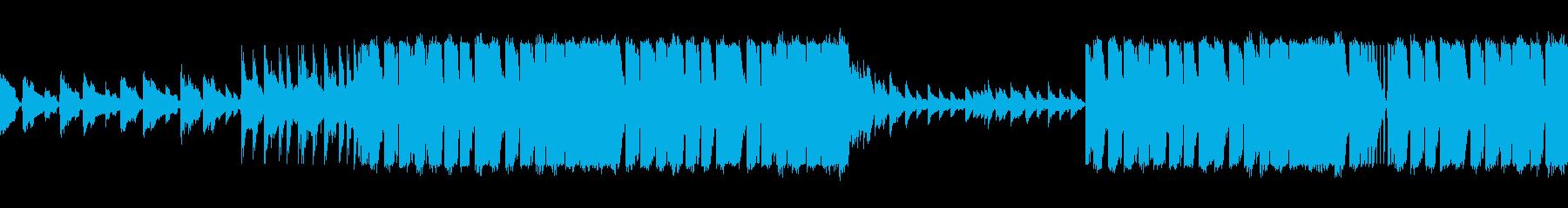 ピアノとバイオリンがあるクラシックEDMの再生済みの波形