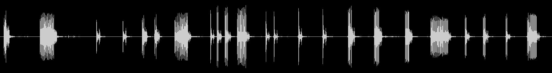 .45口径トミー銃:さまざまなバー...の未再生の波形