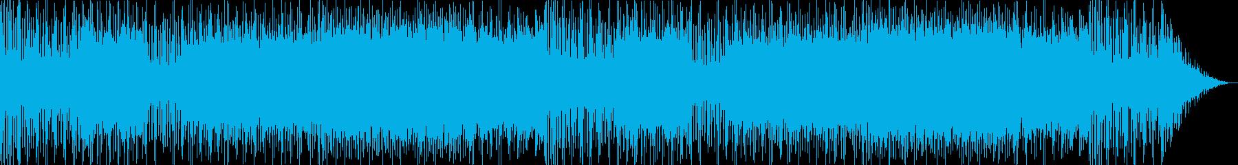 活気あふれるケルトミュージックの再生済みの波形