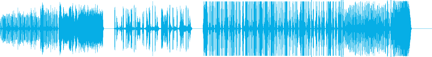 DJスクラッチパフォーマンス7-9の再生済みの波形