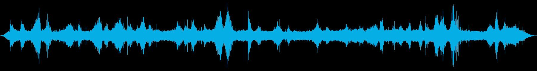 オーシャン:波が小石やロックショア...の再生済みの波形