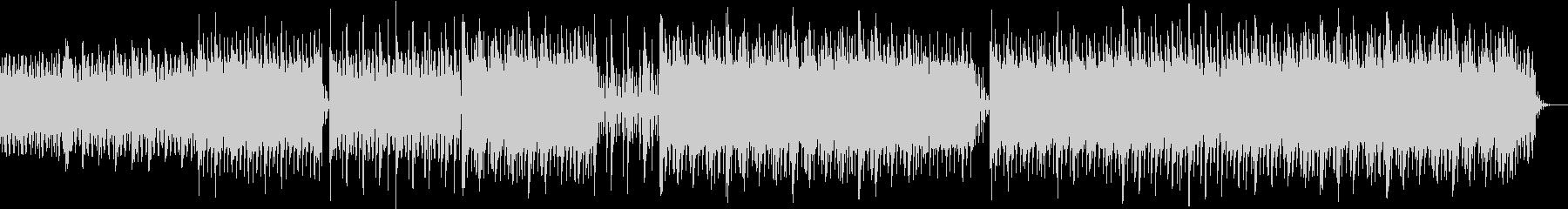 透明感のある ヒーリング ミニマルピアノの未再生の波形