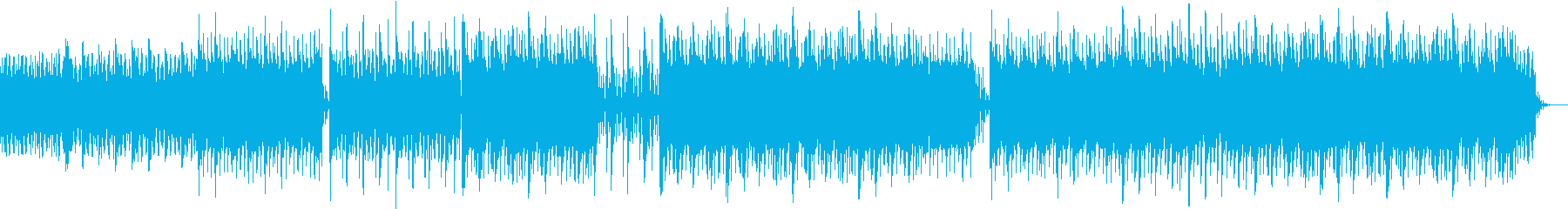 透明感のある ヒーリング ミニマルピアノの再生済みの波形
