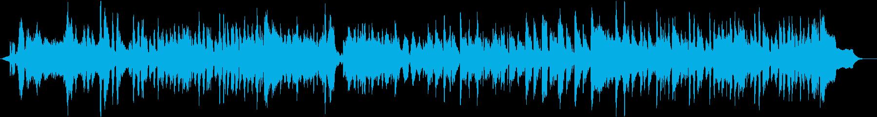 ハロウィンをテーマにした楽曲の再生済みの波形
