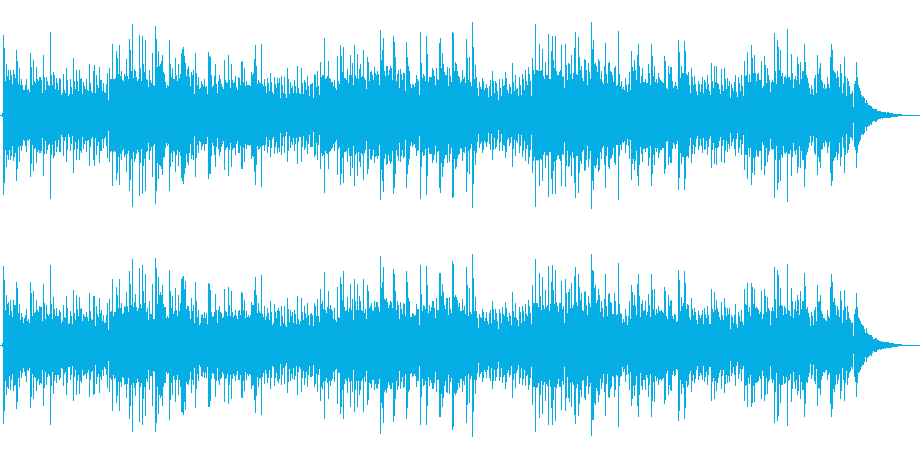 アコギ カントリーA 平穏な日常の再生済みの波形