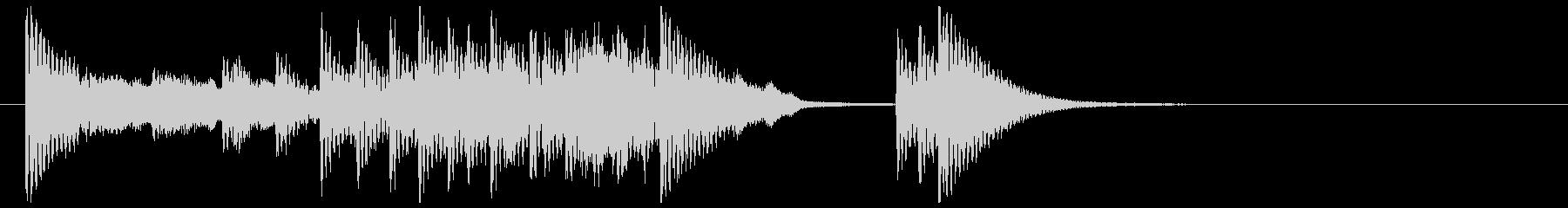 和楽器☆和風ジングル1の未再生の波形