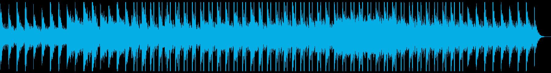 ギターの感傷的なチルシンフォニックポップの再生済みの波形