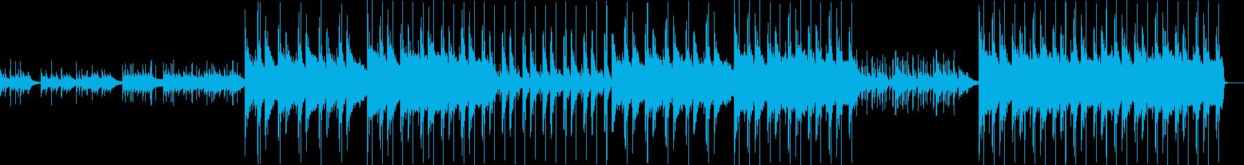 安らぎの美しく癒しの和風BGMの再生済みの波形