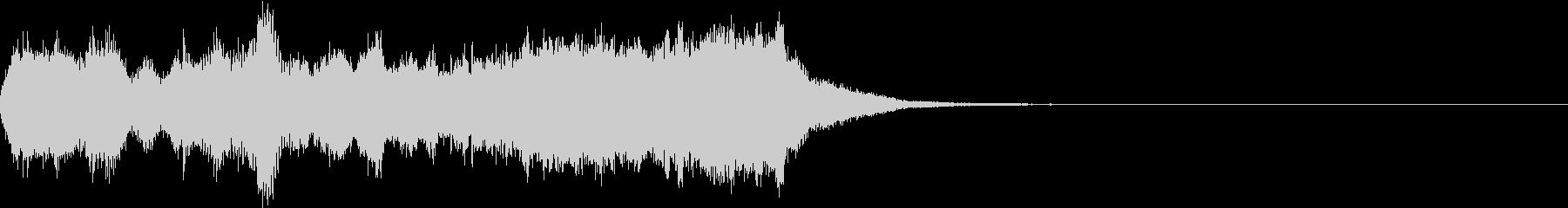 華やか 豪華 オープニング ジングル 3の未再生の波形