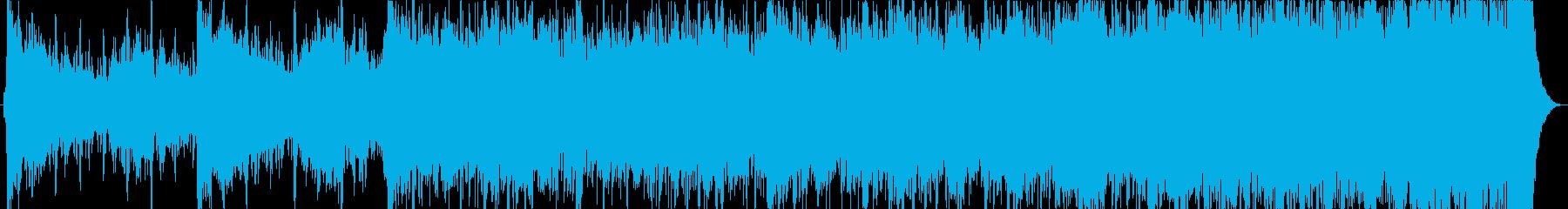 映画的でインスピレーションあふれる音楽の再生済みの波形
