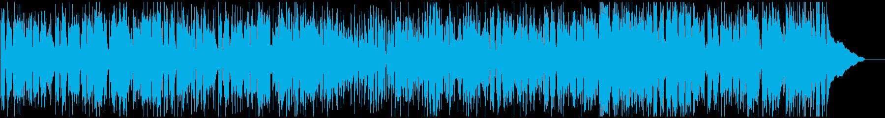 軽快で明るい爽快ジャズファンク・ブルースの再生済みの波形