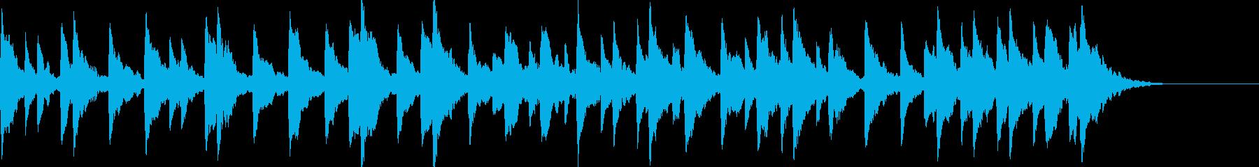 童謡「雪やこんこん」オルゴールbpm66の再生済みの波形